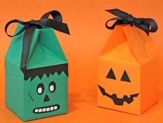 В темной-темной комнате стоит картонная-картонная коробка, или Как сделать сюрприз Хэллоуин