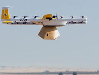 В Австралии продукты в коробках из гофрокартона стали доставлять дроны