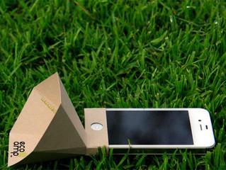 Повысьте громкость своего iPhone с помощью усилителя из картона