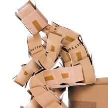 Сложная высечка, упаковка сложной высечки Смарт Картон