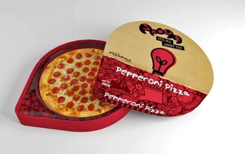 "Коробка для пиццы компании ""Смарт Картон"""