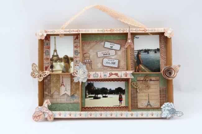 Рамка для фото из коробки компании Смарт Картон