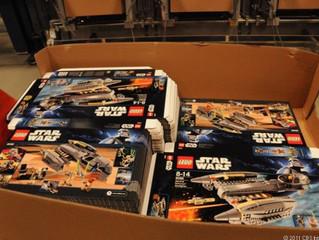 Как делают картонные коробки Lego