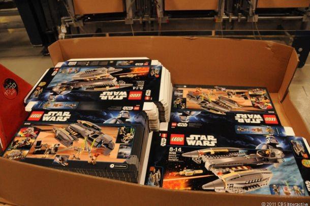 Картонные коробки оробки Lego. Смарт Картон www.smartkarton.ru