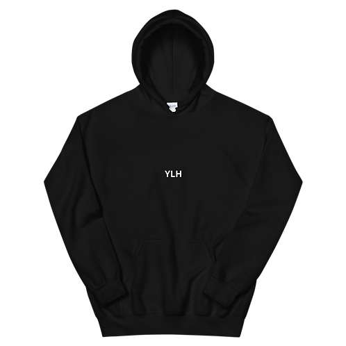 YLH - Unisex Hoodie (black)(white font)