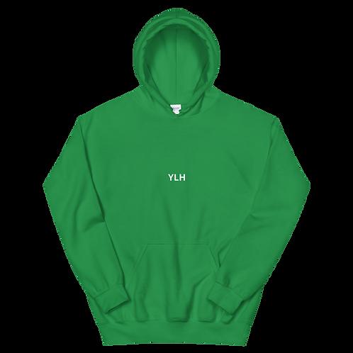 YLH - Unisex Hoodie (green)(white font)