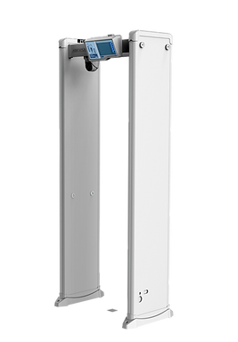 Temperature Measurement Walk-Through Detector