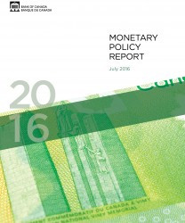 BOC July 2016 Monetary Policy Report  -  Canadian Economy
