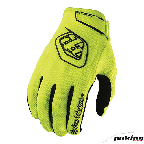 TLD AIR GLOVE FLO YELLOW YOUTH