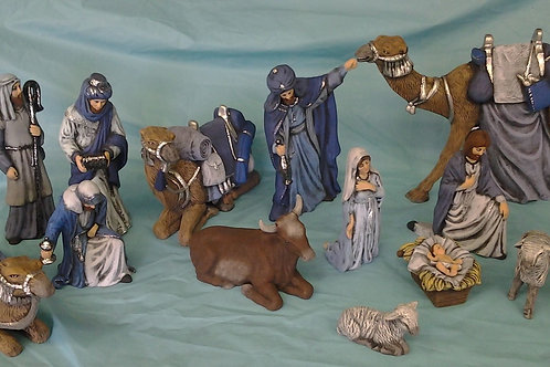 Clay Magic Nativity