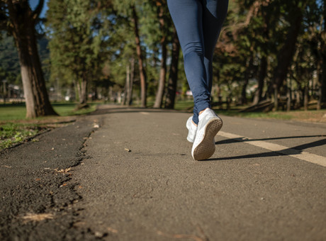 The Benefits of Mindful Walks (Social Distancing Edition)