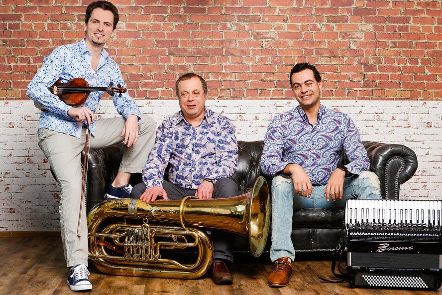 Hamburg Klezmer Band, photo credit: Felikss Livschits