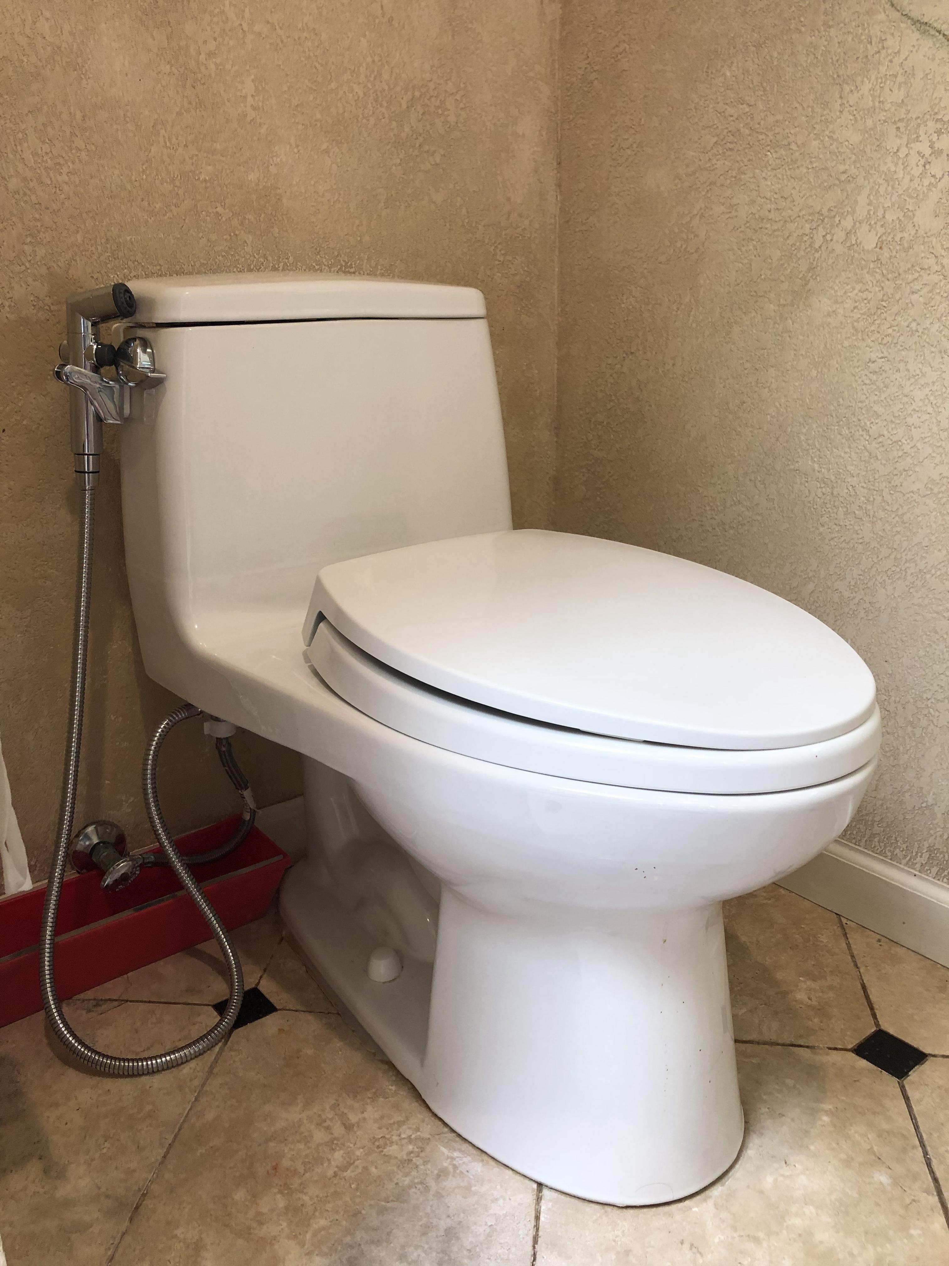 Toto toilet install