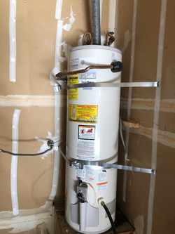 Old 40-gal water heater wasn't heating up water anymore