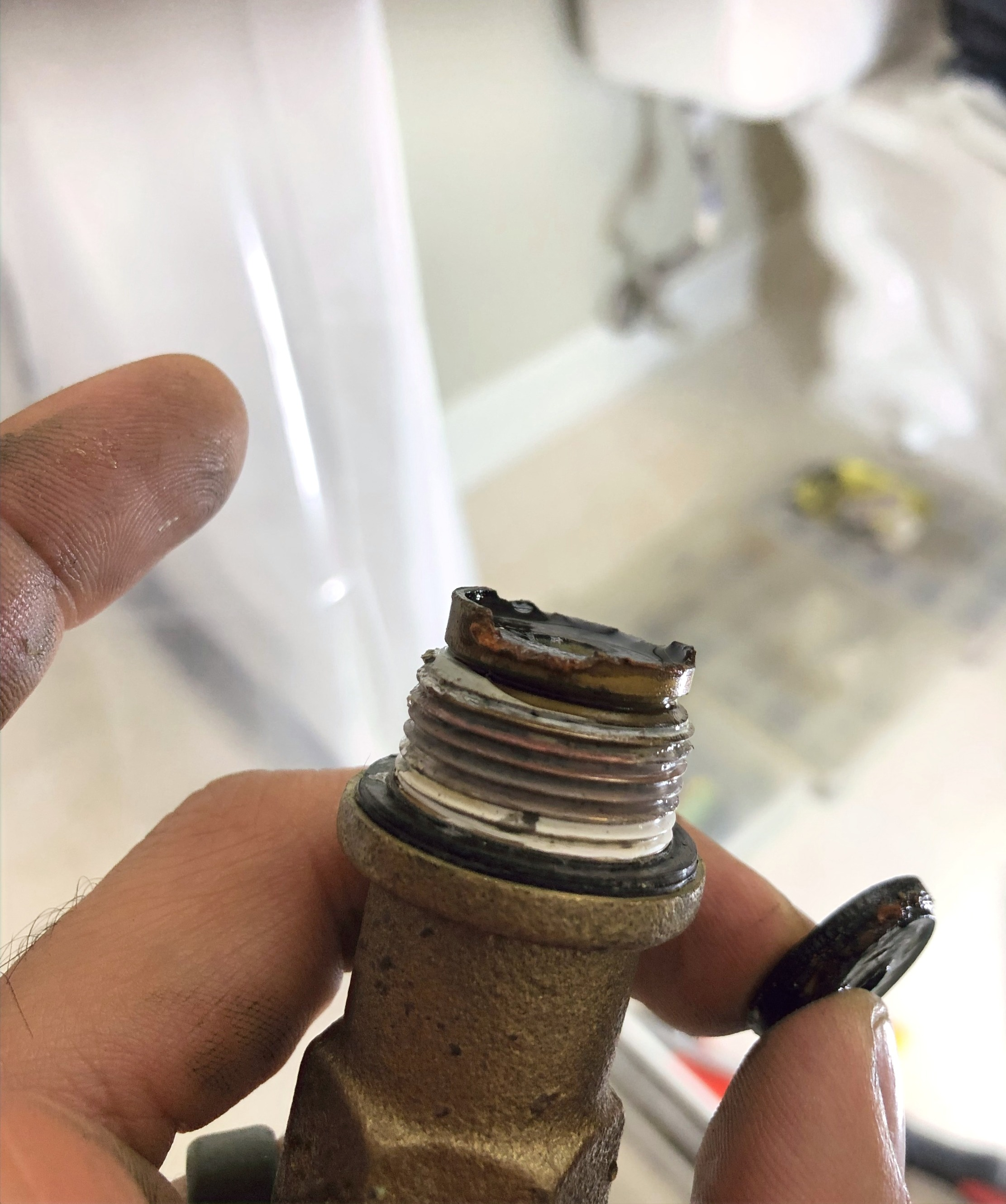 Cold Shower Stem corroded