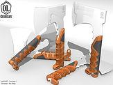 Hatchet CAD Rendering