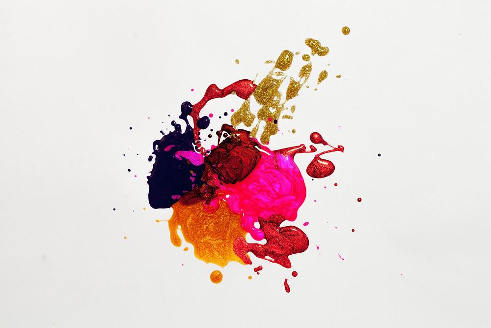 Paint spill