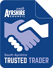 Trading standards appoved carpet and upholstery cleaning business South Ayrshire Council Trusted Trader