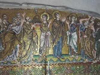 Restaurierung in der Geburtskirche