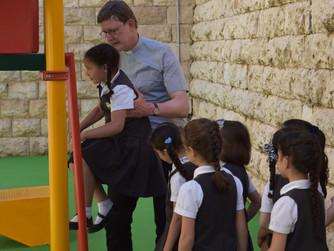 Spielplatz der Schmidt-Grundschule eingeweiht