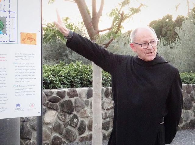 Priorat Tabgha: Pater Jonas