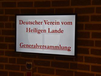 Generalversammlung des Deutschen Vereins vom Heiligen Lande