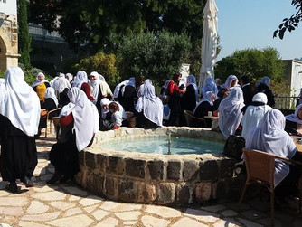 Besuch von drusischen Frauen in Tabgha