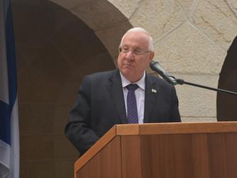 Wiedereröffnung in Tabgha: Staatspräsident Rivlin betont Religionsfreiheit