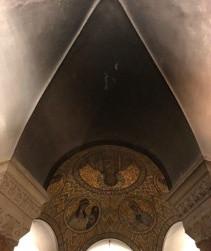 Renovierungsarbeiten Dormitio-Abtei