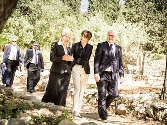 Bundespräsident Dr. Steinmeier besuchte Emmaus-Qubeibeh
