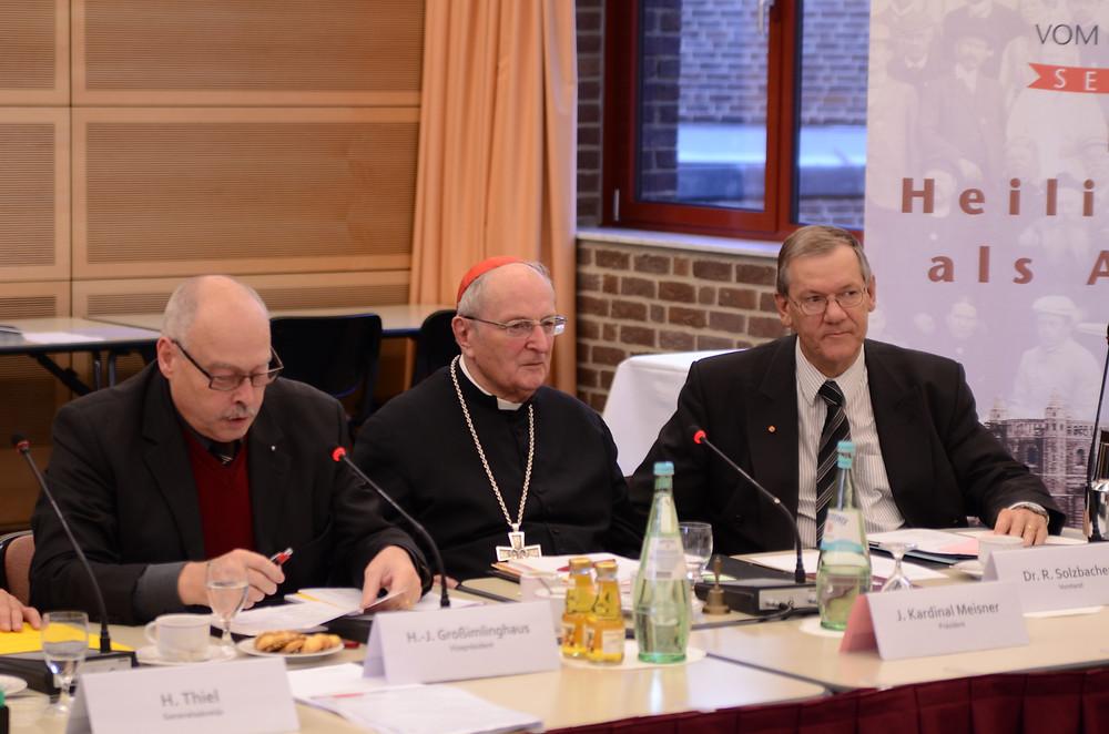 Kardinal Meisner bei der DVHL Generalversammlung 2012