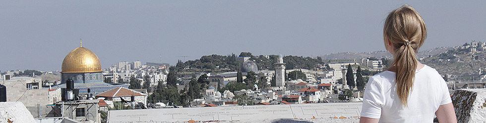 DVHL Volontärin, Paulus-Haus Jerusalem