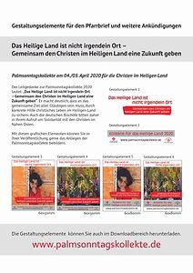 Palmsonntagskollekte_2020_Pfarrbriefmate