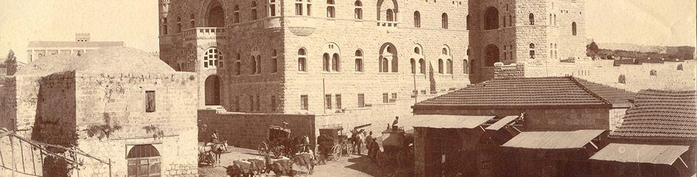 DVHL Verein Geschichte Paulus-Haus Jerusalem