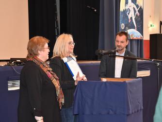 Auszeichnung des Austauschprogramms der Ursulinenschule