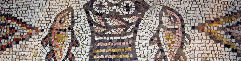 Bodenmosaik Brovermehrungskirche, Tabgha