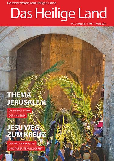 """""""Das Heilige Land"""" Thema Jerusalem"""