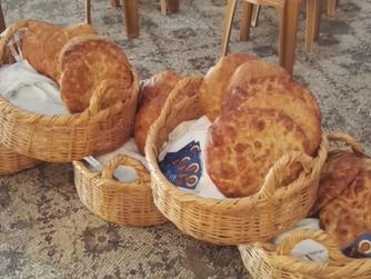 Feier der Brotvermehrung im Priorat Tabgha