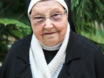 Schwester Xaveria: 65 Jahre Professjubiläum