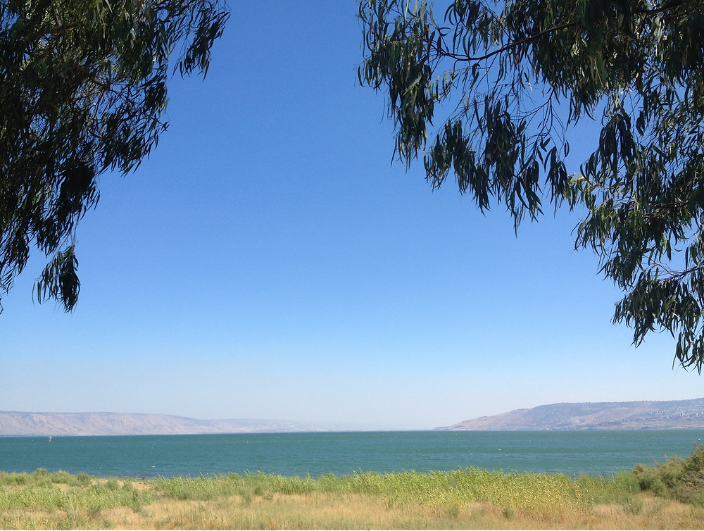 Der See Gennesaret