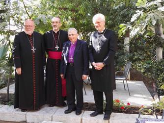 Ökumenische Pilgerreise der Bischöfe