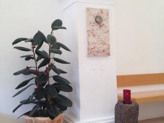 Neuer Tabernakel im Pilgerhaus