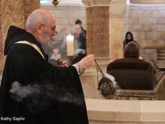 Krypta der Jerusalemer Dormitio-Abtei wiedereingeweiht
