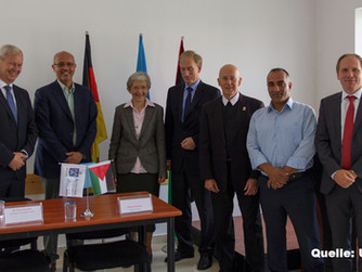Erweiterung der Krankenpflegeschule in Qubeibeh eröffnet