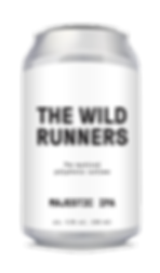 Beer Can_silver_Name_flat_The wild runne