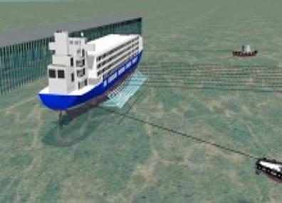 DNIT inicia serviços para resgatar navio que afundou em 2015 no Pará