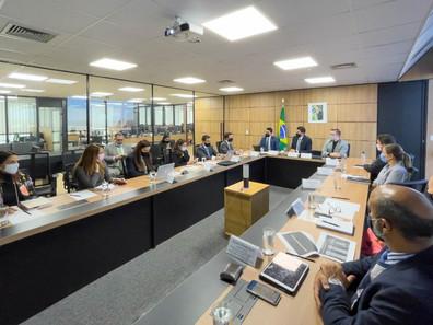 Reunião estratégica do MInfra destaca concessões no setor portuário