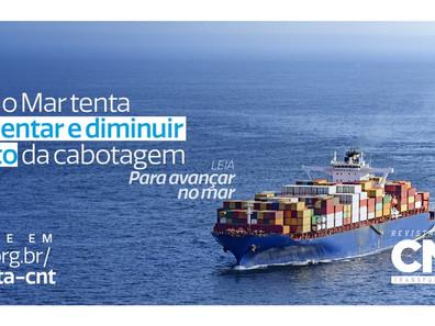 BR do Mar tenta fomentar e diminuir custo de cabotagem