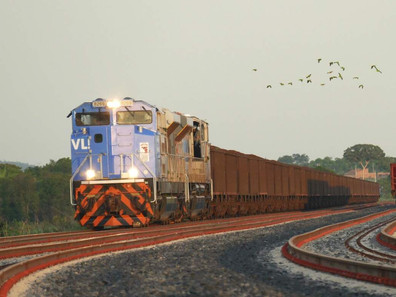 Transporte de cargas pelas ferrovias do país cresceu 30% em março