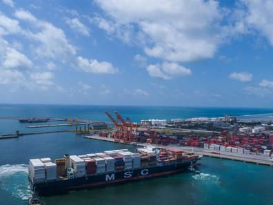 Porto de Suape cresce no primeiro semestre do ano